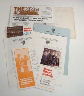 1983 marine military academy promo pckg harlingen tx