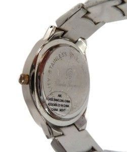 RARE OVAL CHARLES RAYMOND QUARTZ WATCH GOLD / TWO TONE / NEW BATTERY