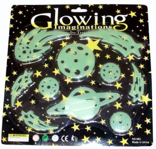 Glow in The Dark Cosmic Star Shapes Party Bag Toy Gift