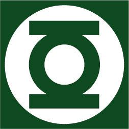 Green Lantern Vinyl Sticker Decal DC Comics Window Car