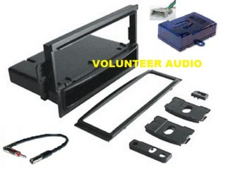 2000 06 GM Radio Installation Dash Kit Bose Harness Antenna PKG129
