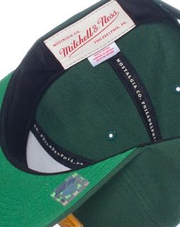 Mitchell and Ness Green Bay Packers NFL Snapback Cap