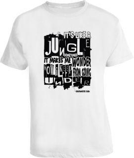 Grandmaster Flash Hip Hop Rap Quote T Shirt