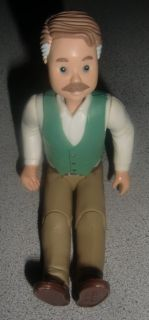 Vintage Fisher Price Loving Family Dollhouse Grandpa Doll