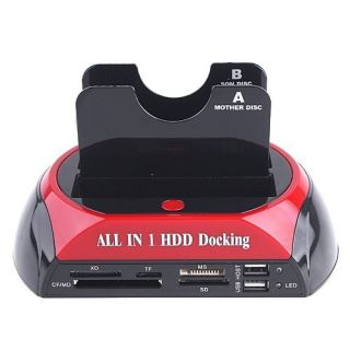 Hard Disk Drive HDD to USB 2 0 E SATA Docking Adapter USB Hubs