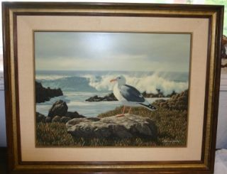 Harold Shelton (Private Property Gull) Painting