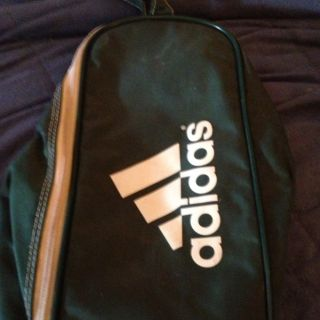 Forest Green Adidas Shoe Bag