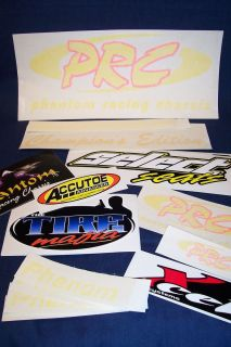 Go Kart Racing New Phantom Icon Racing Chassis PRC Decals Kit 17 Decal