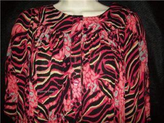 Go Softly WVN Rayon Muu Patio Duster House Dress 1x