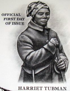 1995 First Day Cover Civil War Series   Harriet Tubman