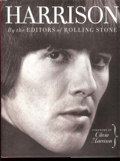 George Harrison Beatles Rolling Stone Hardcover Book 0743235819
