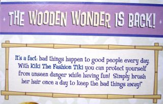 Kiki, the fashion Tiki doll MIB NEW big head, perfect for Blythe doll