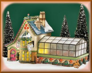 Mrs Claus Greenhouse New Department Dept 56 North Pole Village D56 NP