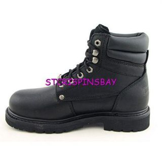 Harley Davidson Crankshaft Boots Mens 11 5 New Motorcycle Black Steel