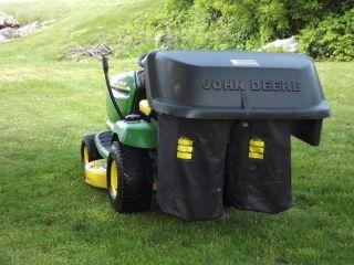 John Deere Lawn Tractor Rear Bagger