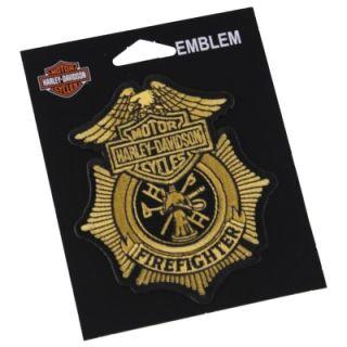 harley davidson firefighter patch