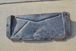 51 52 1951 Ford Pickup Truck Gravel Pan