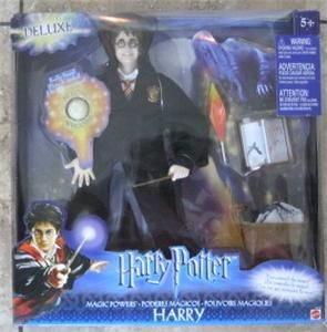 Harry Potter Deluxe 12 Magic Powers Electronic Movie Figure Barbie