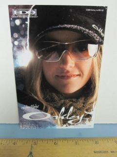 OAKLEY surf 2006 GRETCHEN BLEILER SNOWBOARD dealer promo display card