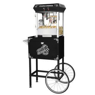 Great Northern Popcorn 4 Oz Black Theater Style Popcorn Popper Machine