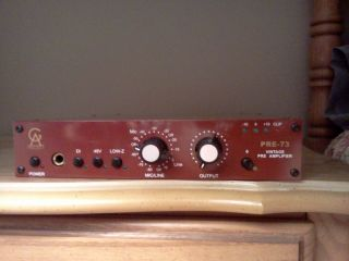 Golden Age Project Pre 73 Microphone Preamp Neve 1073 Preamp Clone