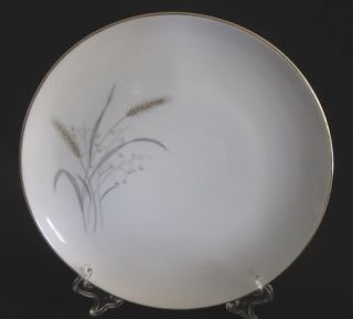 Mitake Fine China Dinner Plate Gold Wheat 10 5 Japan
