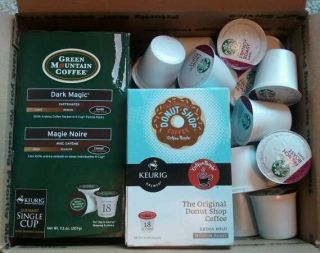 Green Mountain Coffee, Donut Shop Coffee & Starbucks Coffee 58 K Cups