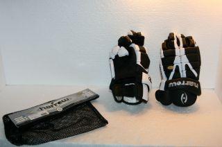 Harrow G2 Lacrosse Gloves Size 13 5 Black White