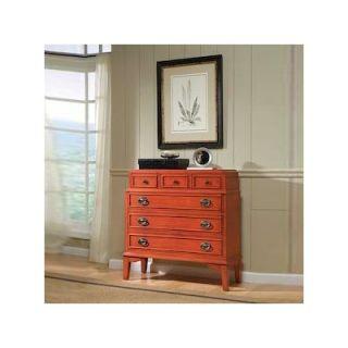 HeatherBrooke Torta Del Accent Chest in Tomato Red