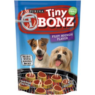 Bonz Tiny Filet Mignon Dog Treat (Case of 10)   17800421188