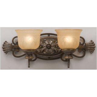 Crystorama Bathroom Lights Vanity Light in Antique Brass