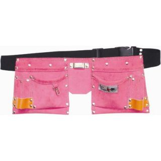 Bourn Tough Kids 10 Pocket Tool Belt / Tool Bag   KTB 01 Pink