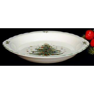 Nikko Ceramics Christmas 10 Pie Plate