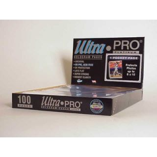 Ultra Pro 8 x 10 Photos Display Box (1 Pocket Pages)