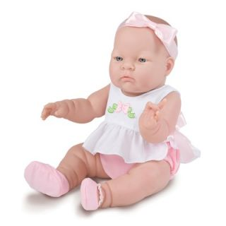 JC Toys Lily   14 Real Girl Vinyl Doll with Pink Outfit with Headband