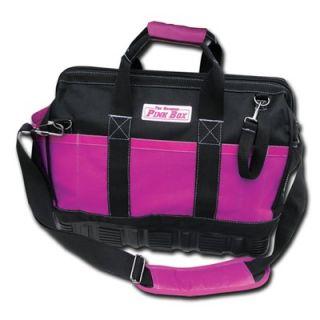 The Original Pink Box 15 Tool Bag with Rubber Base   PB15RBTB