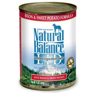 Bison and Sweet Potato Canned Dog Food (13 oz, case of 12)