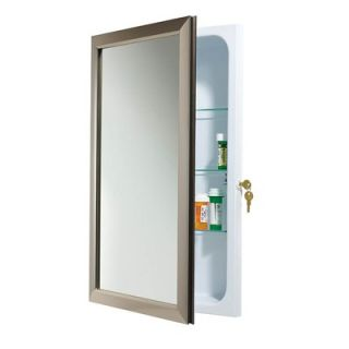Broan Nutone Speciality Recessed Bath Cabinet in White   625N244SNCL