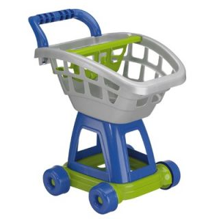 American Plastic Toys 15 Piece Deluxe Shopping Cart with Play Food