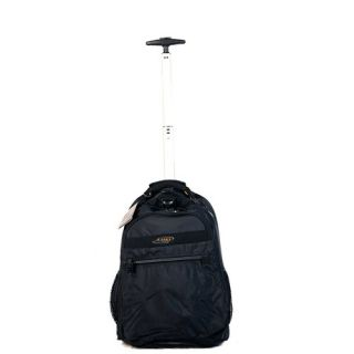 Expandable 19 Rolling Trolley Laptop Backpack