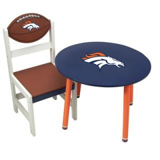 SC Sports NFL 23 x 17 Wooden Team Table   nfl wooden team table