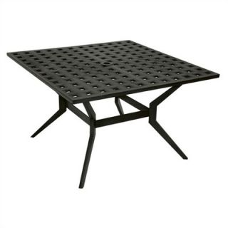 Windham Castings Metro Classic Square Low Dining Table   MC740223