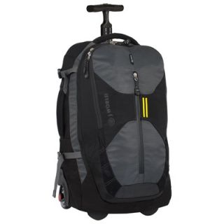 World Chris Laptop Rolling Backpack   RBS 23 BLACK / RBS 23 GREY
