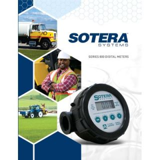 Sotera Digital Chemical Flow Meter EPDM / 2   20 GPM / EPDM Seals / 1