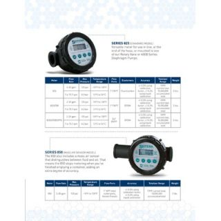 Sotera Digital Chemical Flow Meter / 2   20 GPM / Fluorcarbon Seals