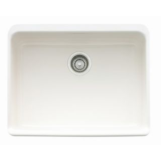 Franke Manor House 24 Fireclay Apron Front Kitchen Sink   MHK110 24