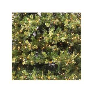 Vickerman 7.5 Prelit Slim Country Pine Artificial Christmas Tree with