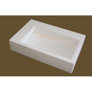 Water Creation 4 x 24 Solidcrafts Bathroom Sink