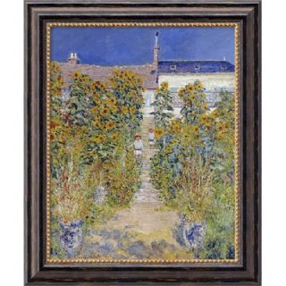at Vetheuil, 1880 by Claude Monet, Framed Canvas Art   23.97 x 19.97