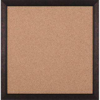 Art Effects Modern Square Brown Cork Board   27 x 27